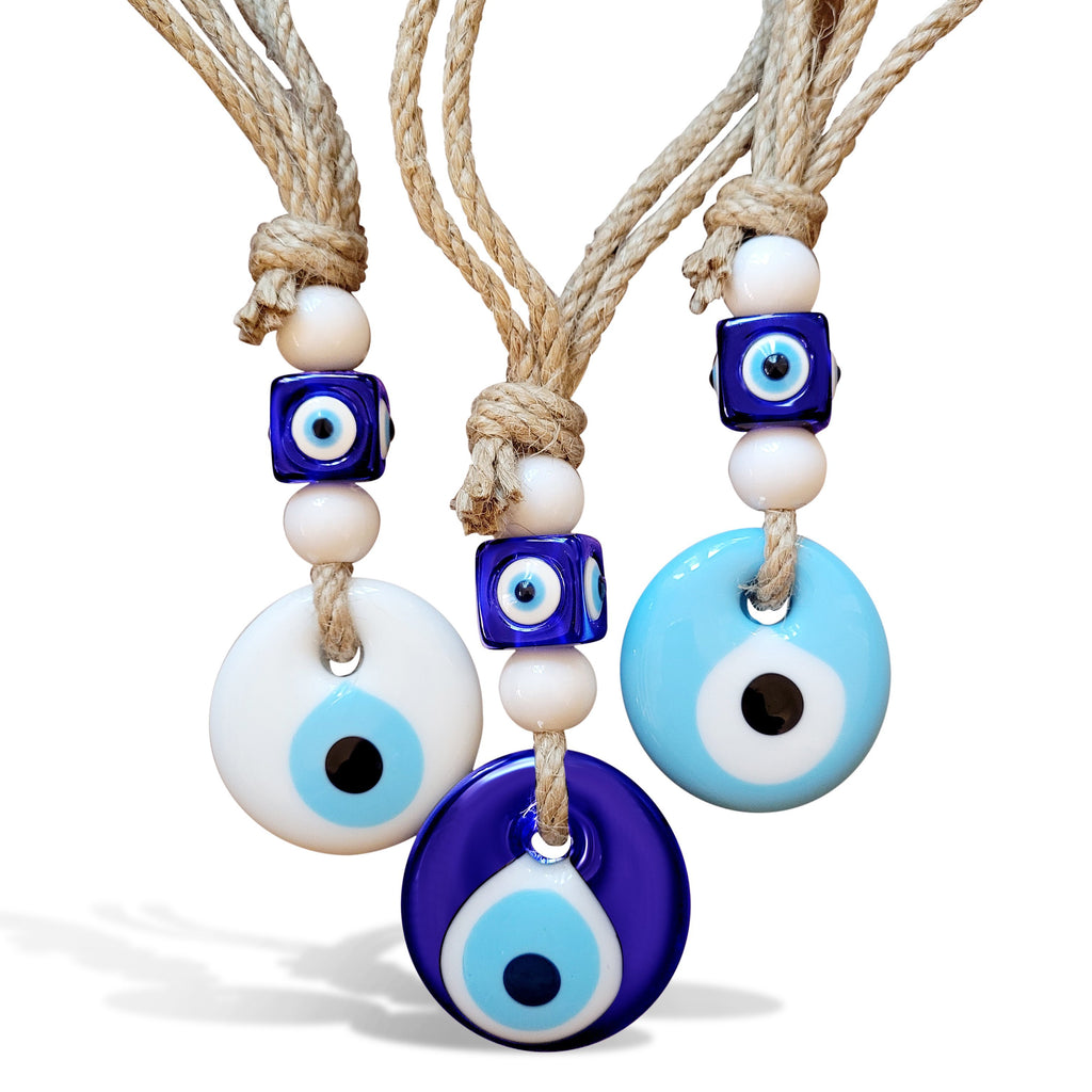Evil Eye Small Hanging Charm for Home, Car or Party Favor