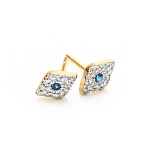 eye of luck earrings