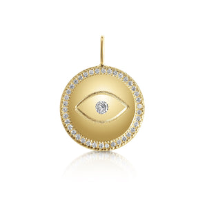 GOLD EYE LUCKY CHARM