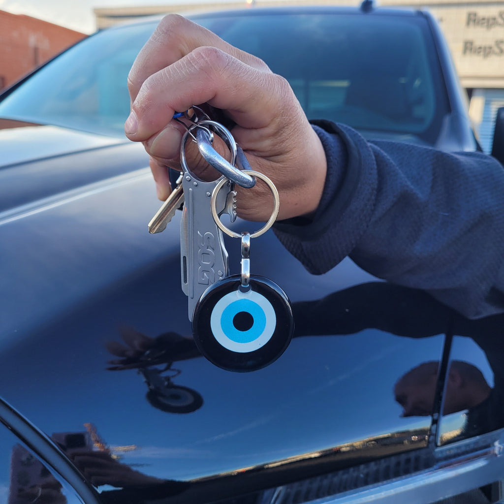keychain evil eye for men