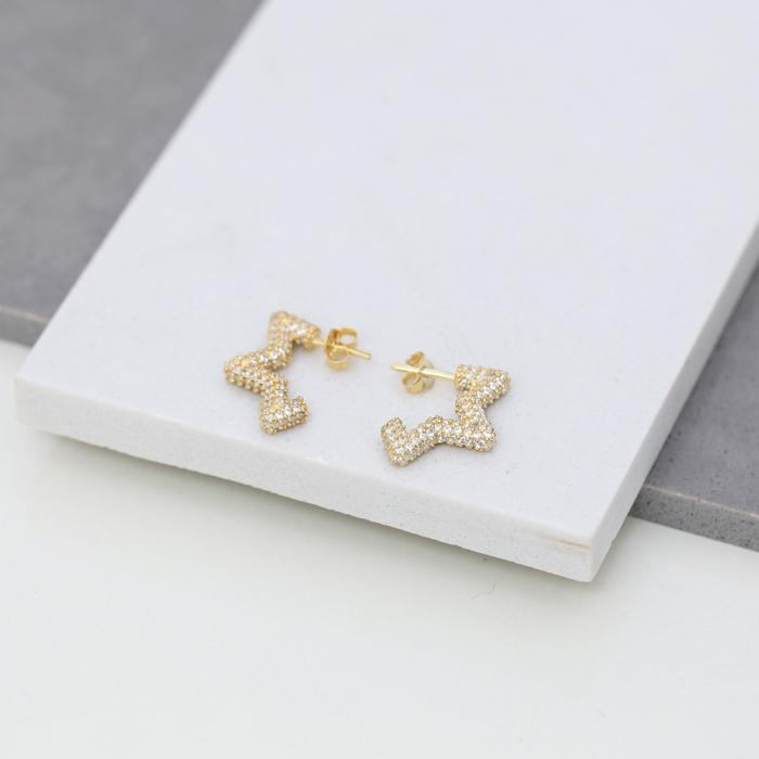 star david earring
