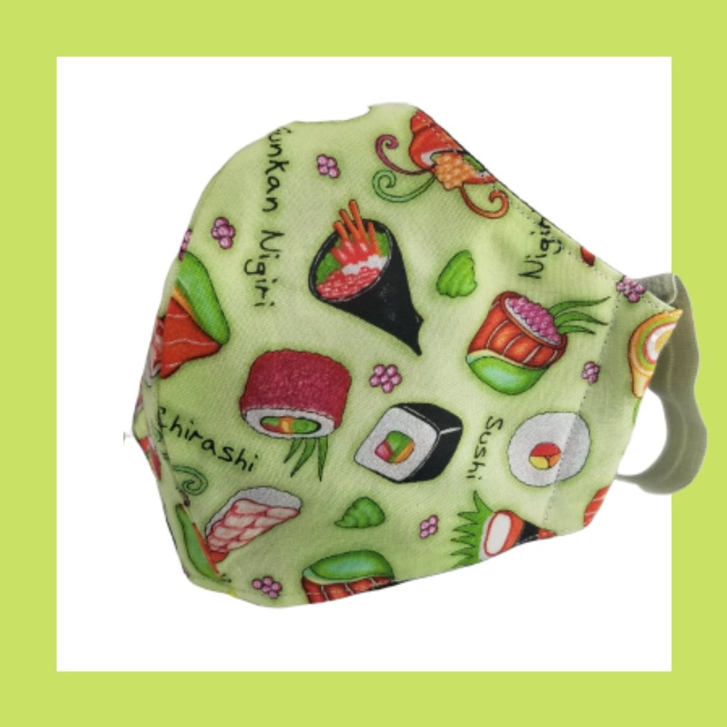 sushi lovers mask for adults