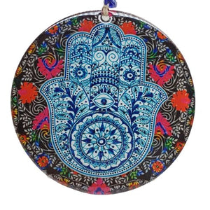 hamsa hand wall hanging for home