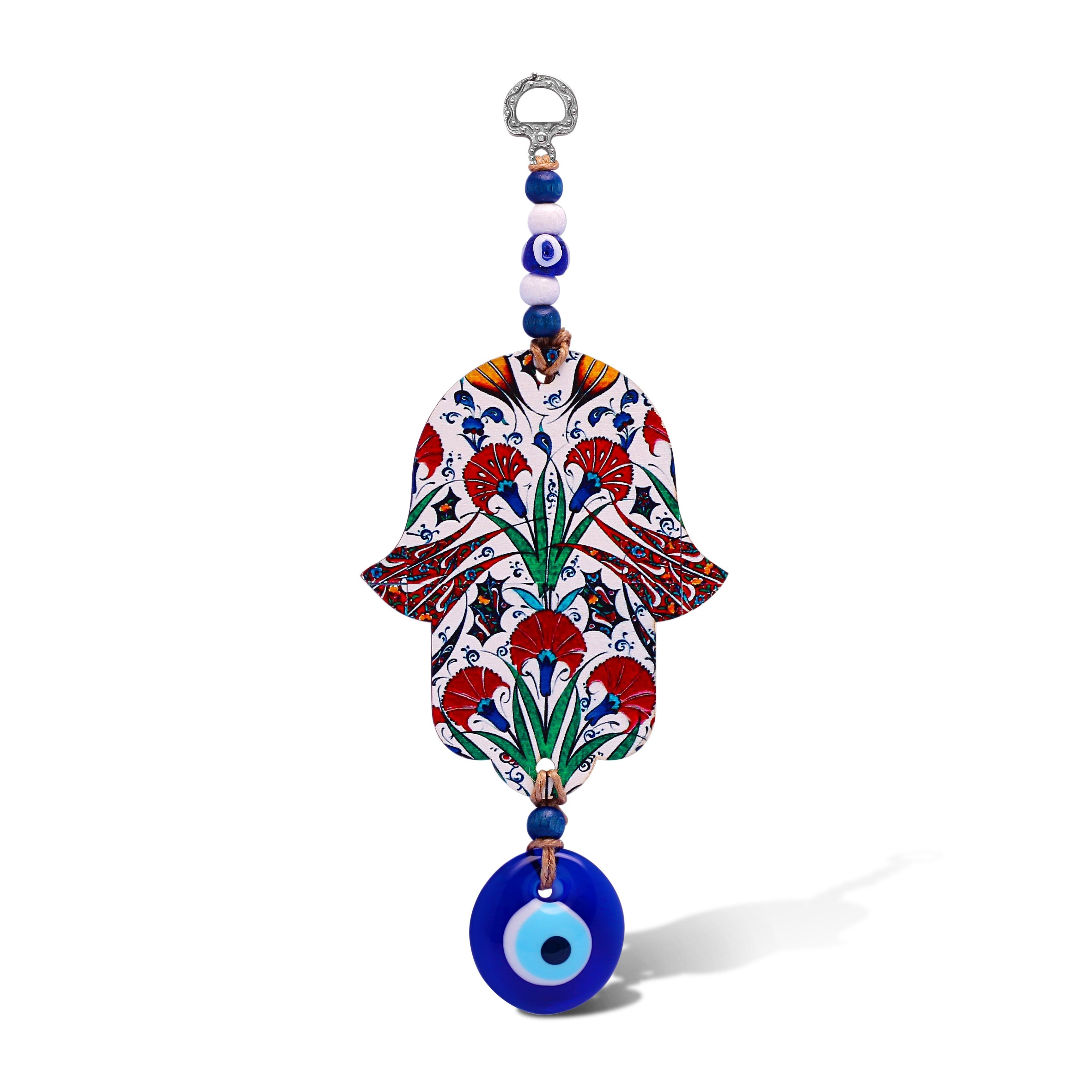 Floral Hamsa Wall Hanging for Your Home