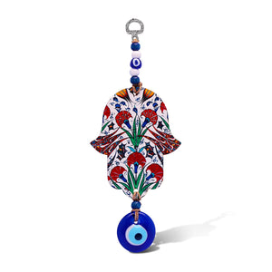 floral hamsa wall decorations