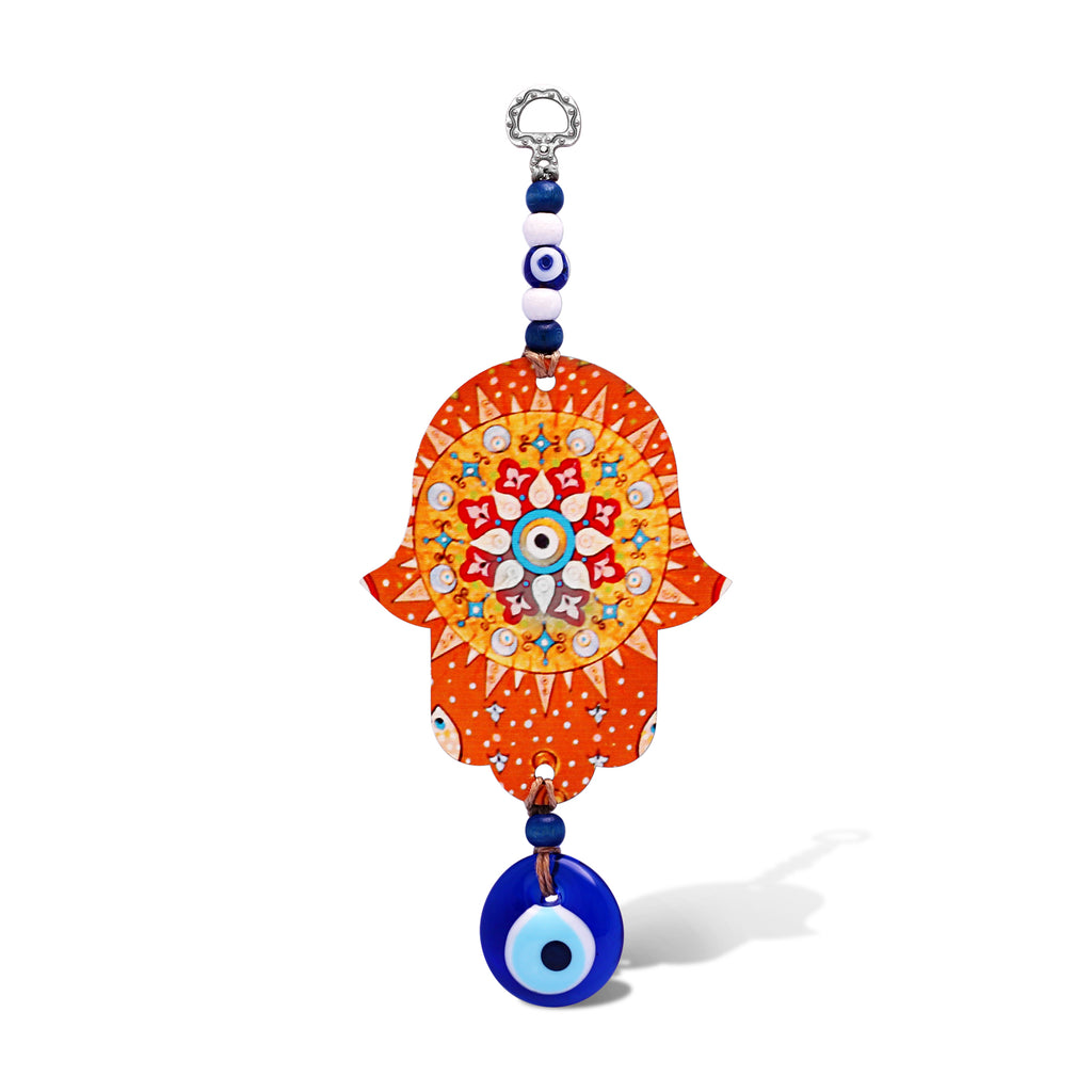 orange hamsa for wall art