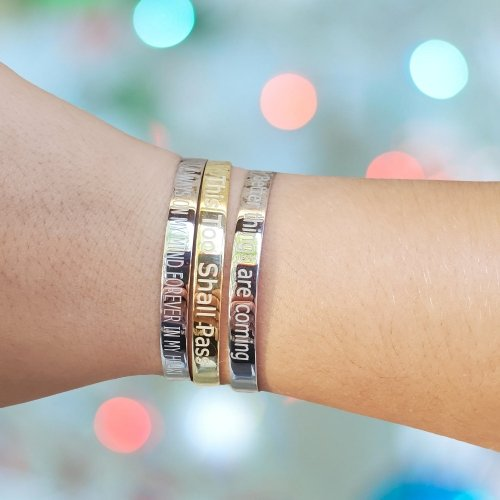words of wisdom bracelets