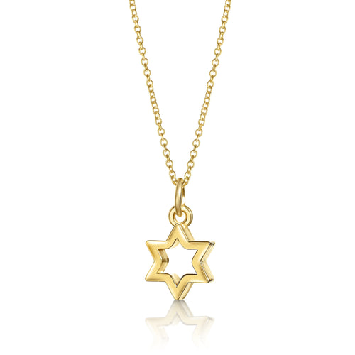 jewish star necklace