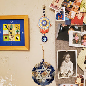 jewish star wall art for work and home