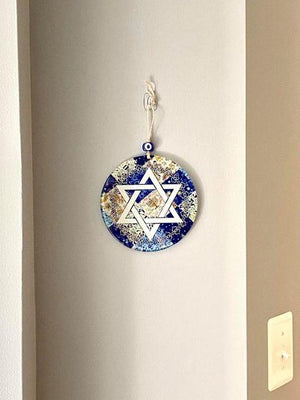 jewish wall decor on wall for home