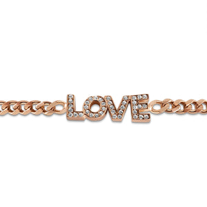 i love you bracelet for women