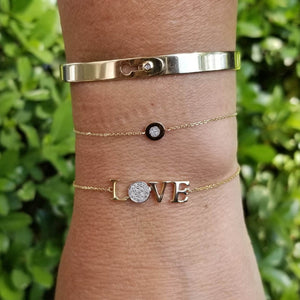 Love Bracelet in Gold and Diamonds