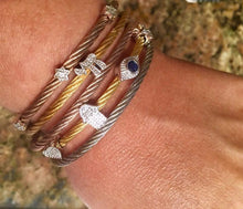 Lucky Hamsa, Star of David, Evil Eye and Heart Bracelet