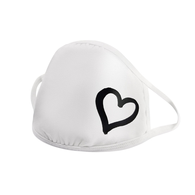 heart mask for women and girls