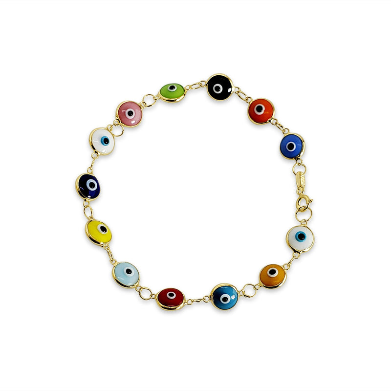 which color evil eye bracelet