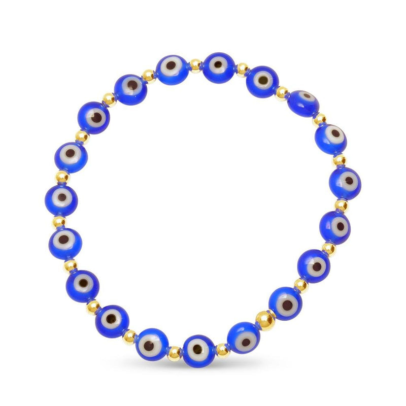navy blue mal de ojo eye jewelry