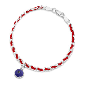 eye bracelet in red