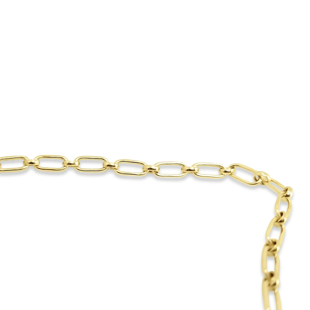 Elongated Medium Paper Clip Chain | Gold Fill or Silver