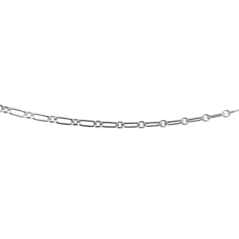 SILVER PAPERCLIP CHAIN