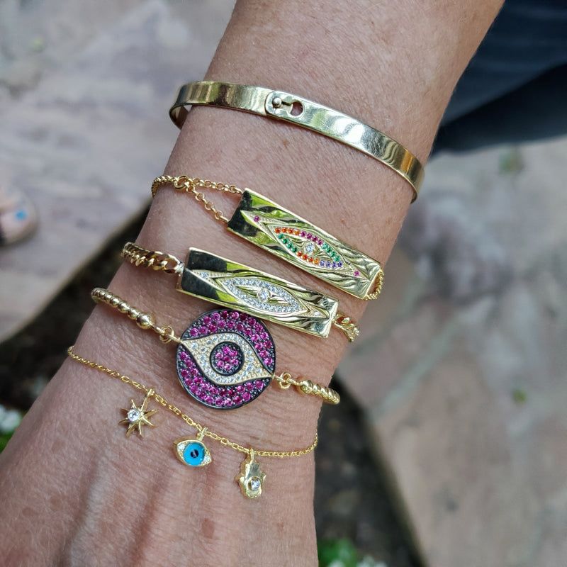 fashionable evil eye jewelry
