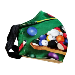 billiards pool table mask