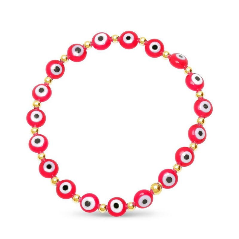 red mal de ojo jewelry bracelet