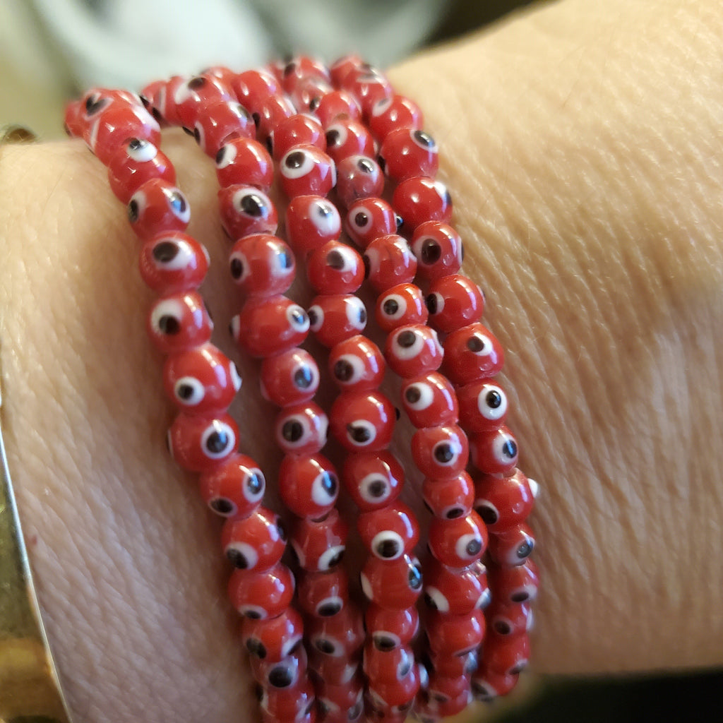 Multi Colorful Evil Eye Protection Bracelet for Everyday Luck