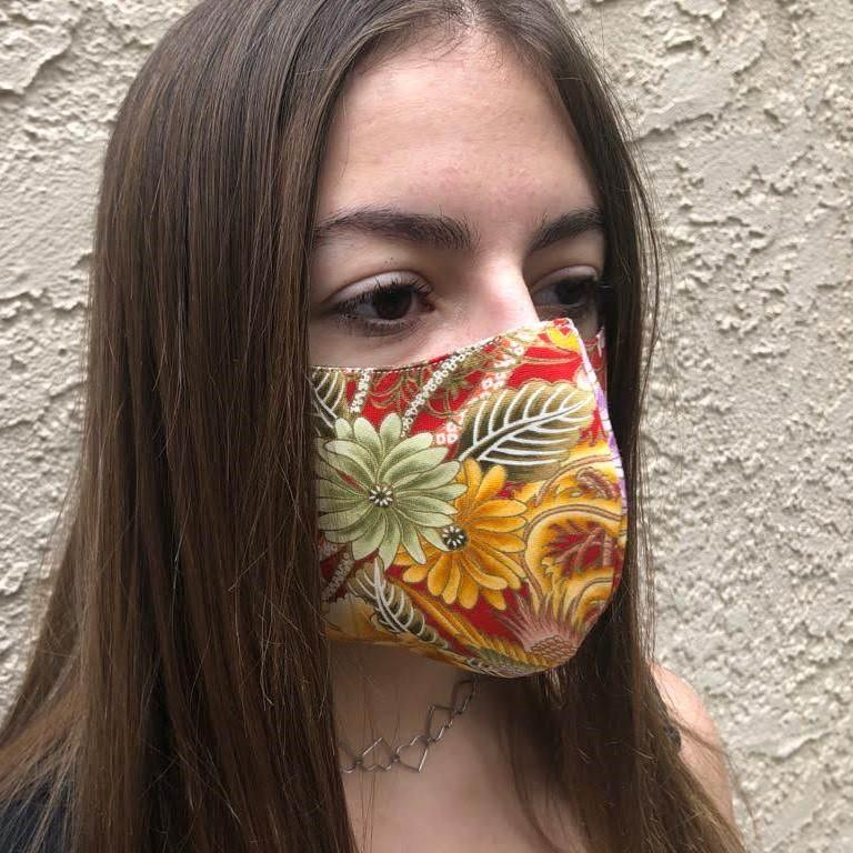 Fabric Facial Mask Cotton Handmade in Los Angeles