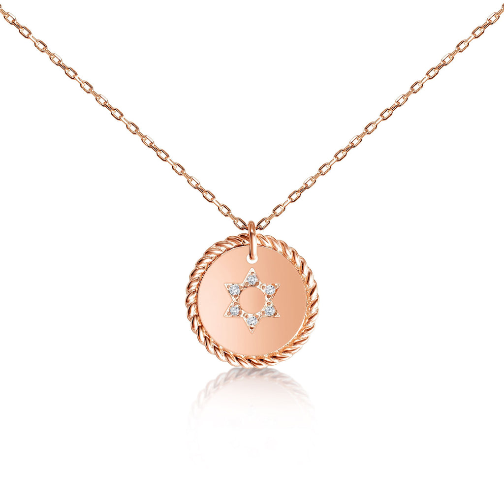 rose gold jewelry jewish