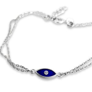 lucky blue eye bracelet
