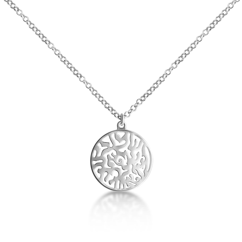 Shema Israel Hebrew prayer necklace