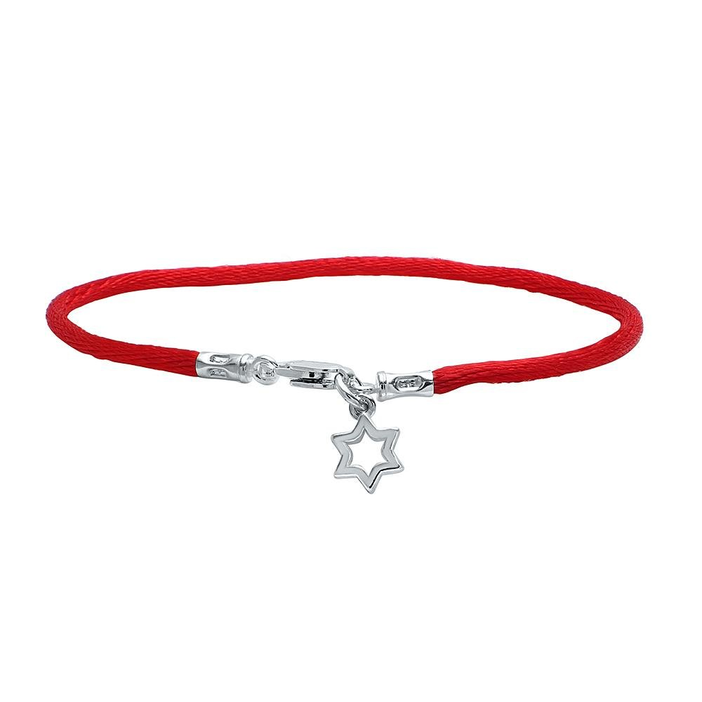 red string bracelet with star