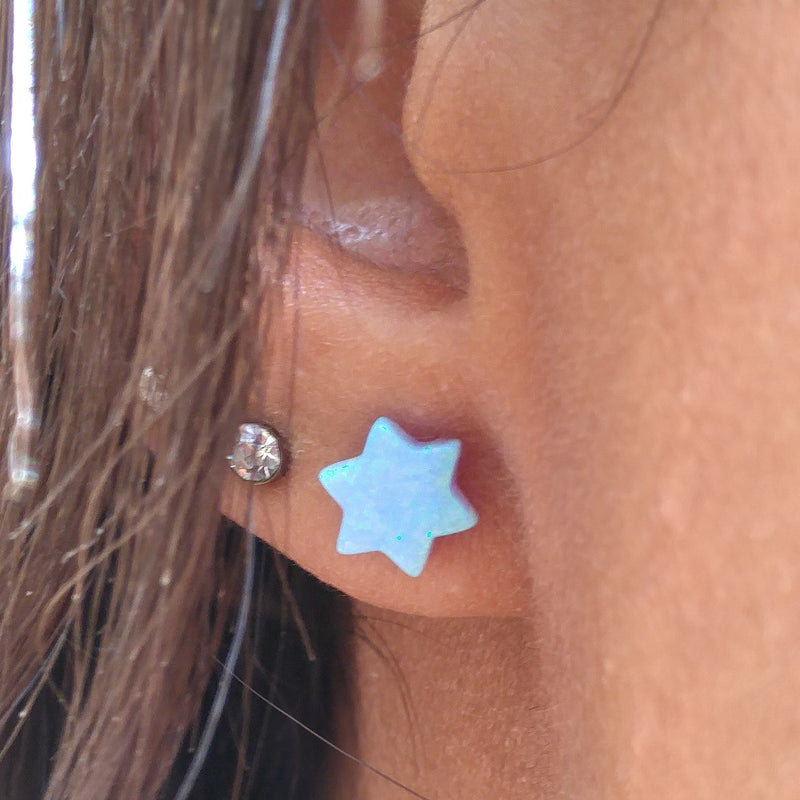 earring star of david