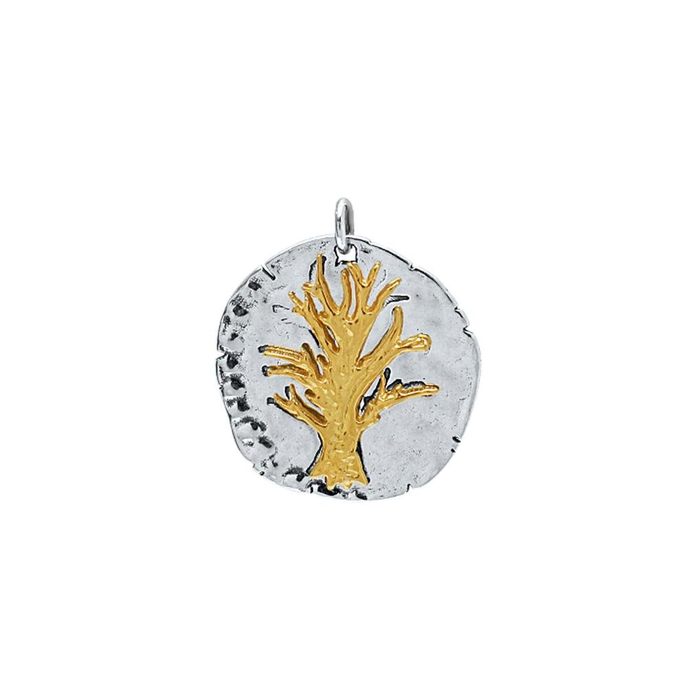 Tree of Life Necklace on Gold Chain