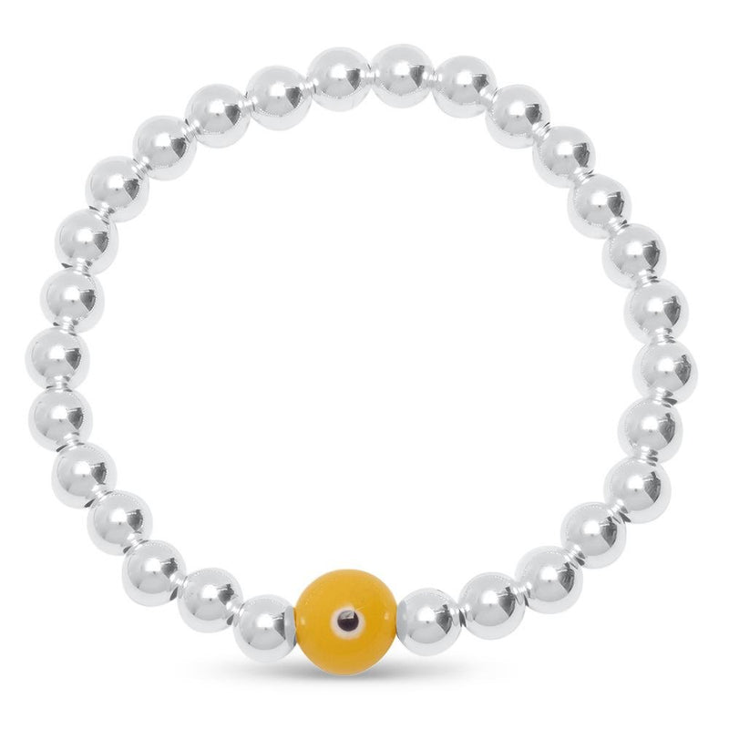 yellow eye bracelet
