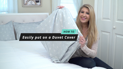 How to put on a duvet cover_vaulia