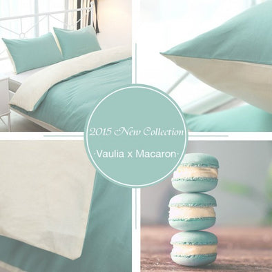 Vaulia Home Collection Macaron Inspired Duvet Cover Sets