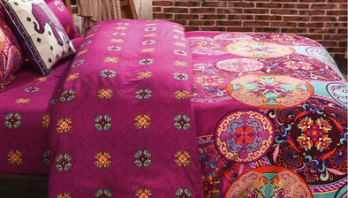 Paisley Inspired Pattern Duvet Cover Sets