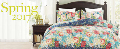 Vaulia's French-style Duvet Cover For Spring
