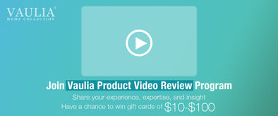 Vaulia Product Video Review Program
