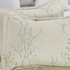 Microfiber Duvet Cover Set Print Pattern Design Beige Color BS220