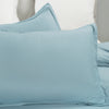 Microfiber Duvet Cover Set Spa Blue Color BS305C