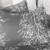 Microfiber Duvet Cover Set Floral Pattern BS351