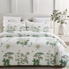 vaulia Printed Floral Pattern Design Microfiber Duvet Cover Sets BS233