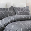 Lightweight Microfiber Duvet Cover Sets Printed Pattern Design BS230