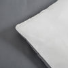 Microfiber Duvet Cover Set Grey and White BS110