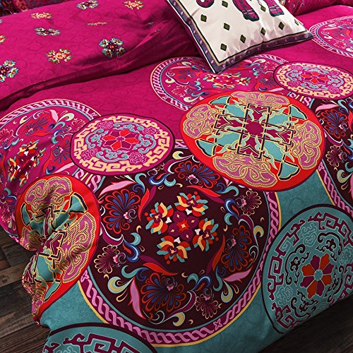 Bohemia Exotic Patterns Microfiber Duvet Cover Set BS101