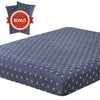vaulia Lightweight Microfiber Fitted Sheet Navy/White BT219