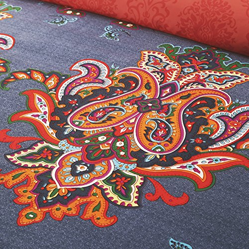 Bohemia Exotic Patterns, Reversible Color Design BS103