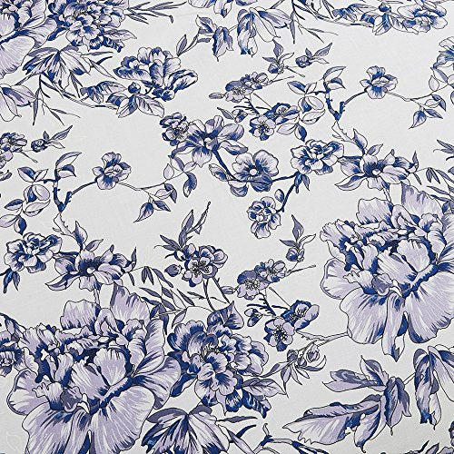 100-Percent Cotton Duvet Cover Sets Blue Flower CBS235-4